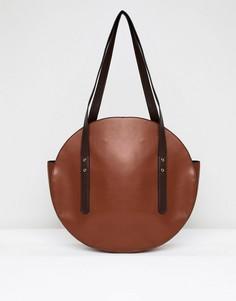 Круглая сумка-шоппер ASOS DESIGN - Рыжий