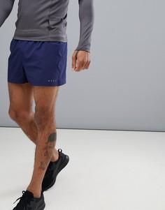 Темно-синие короткие спортивные шорты ASOS 4505 - Темно-синий
