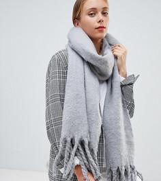 Светло-серый мягкий и длинный шарф My Accessories - Серый