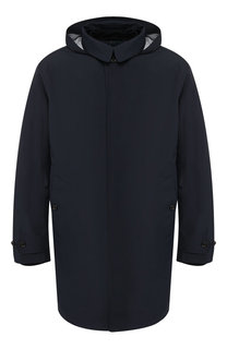 Однобортный плащ прямого кроя с утеплителем Polo Ralph Lauren