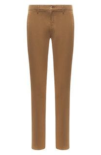 Хлопковые брюки прямого кроя Kenzo