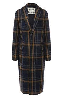 Шерстяное пальто в клетку Acne Studios