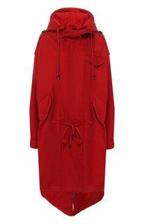 Хлопковое пальто с капюшоном Isabel Marant Etoile