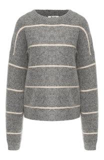 Пуловер в полоску со спущенным рукавом Acne Studios