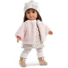Кукла Llorens Елена в бело-бежевом, 35 см