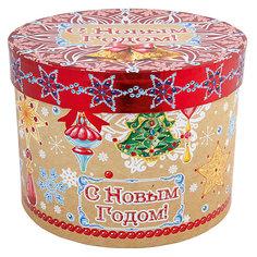 """Подарочная коробка Феникс-Презент """"Новогодние колокольчики"""""""