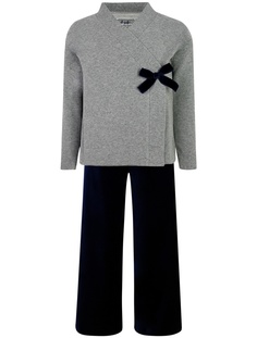 Комплект с брюками, жакетом и лонгсливом Il Gufo