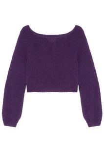 Фиолетовый свитер Kuraga