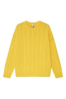 Желтый шерстяной джемпер Loewe