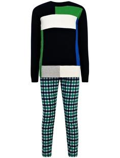 Комплект из джемпера, брюк и поло Il Gufo