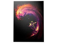 """Картина """"Space Surfer"""" Icon Designe"""