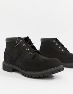 Черные ботинки чукка премиум-качества Timberland - Черный
