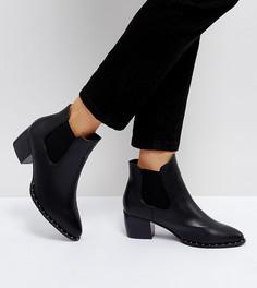 Ботинки челси на среднем каблуке Truffle Collection - Черный