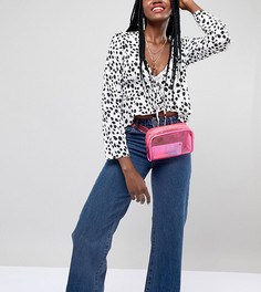 Пластиковая сумка-кошелек на пояс Reclaimed Vintage Inspired - Розовый