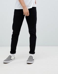 Черные прямые джинсы Weekday cone - Черный