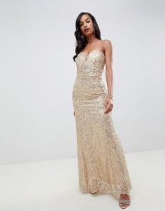 62f136288633 Купить женские платья-бандо из золота в интернет-магазине Lookbuck