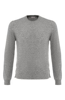 Однотонный кашемировый свитер Moncler