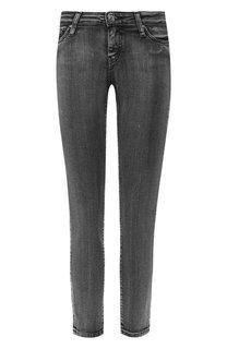 Укороченные джинсы с потертостями Iro