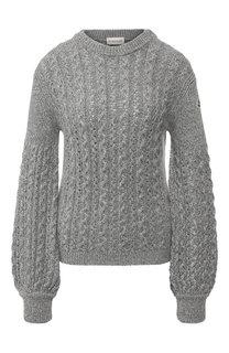 Вязаный пуловер из смеси шерсти и вискозы Moncler