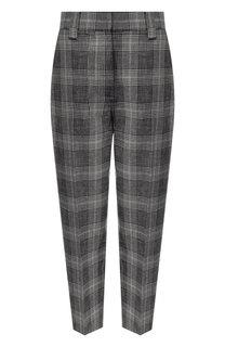 Укороченные брюки из смеси шерсти и хлопка Acne Studios