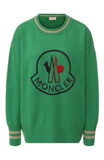 Пуловер из смеси шерсти и кашемира Moncler