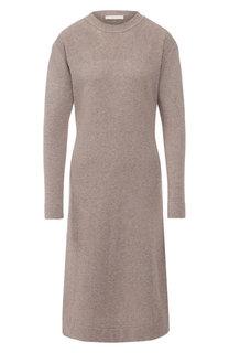 Вязаное платье-миди с круглым вырезом Tak.Ori