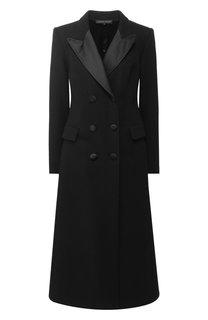 Двубортное шерстяное пальто с отложным воротником Alexander Terekhov