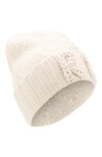 Шерстяная шапка фактурной вязки Polo Ralph Lauren