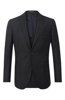 Однобортный пиджак из шерсти Windsor