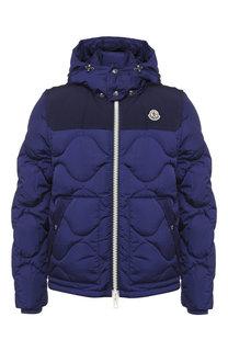 Пуховая куртка Arles на молнии с капюшоном Moncler