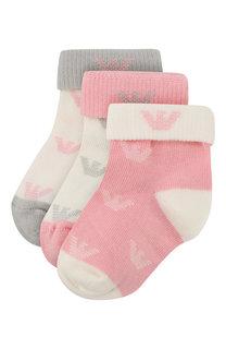 Комплект из трех пар носков Emporio Armani