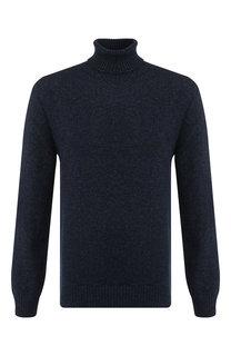 Шерстяной свитер с воротником-стойкой BOSS