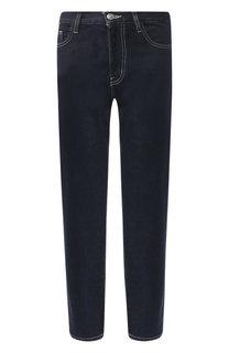 Укороченные джинсы с контрастной прострочкой Current/Elliott