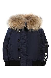 Куртка с отделкой на капюшоне Add