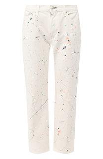 Укороченные джинсы с декоративной отделкой Rag&Bone