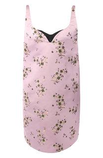 Мини-платье с цветочным принтом Kenzo