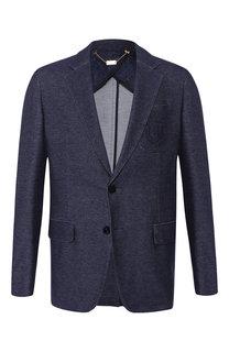 Однобортный пиджак на двух пуговицах Billionaire
