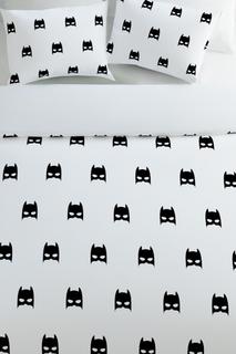 """Постельное белье семейное """"Бэтмен"""" Сирень"""