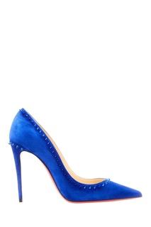 Синие туфли Anjalina Christian Louboutin