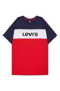 Хлопковое платье color-block Levis®