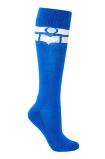 Синие хлопковые носки Vibe Isabel Marant