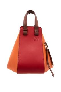 Комбинированная кожаная сумка Loewe