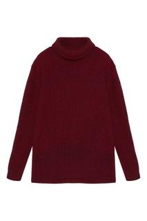 Бордовый свитер Tryyt
