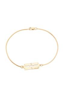 Золотистый браслет с лезвием Caviar Jewellery