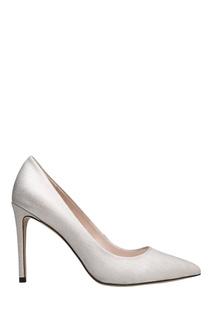 Серебристые туфли Portal