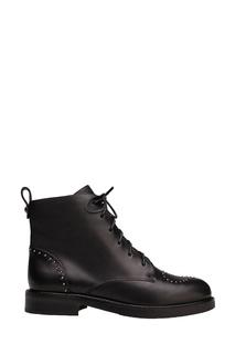 Черные ботинки с заклепками Portal