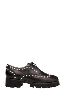 Черные ботинки с контрастной отделкой Portal