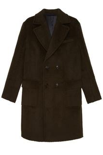 Зеленое пальто Tryyt