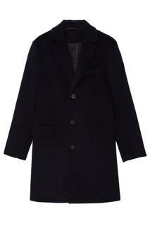 Черное пальто Tryyt