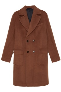 Бежевое пальто Tryyt